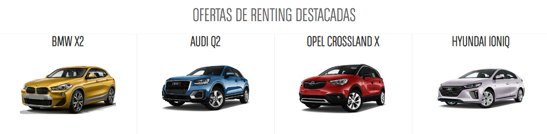 renting coches Madrid